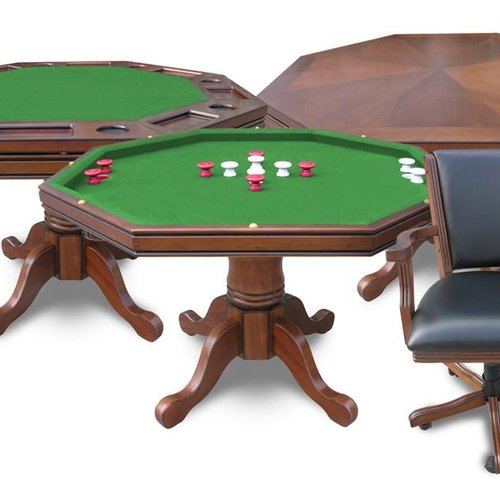 Carmelli NG Carmelli NG Walnut Kingston In Poker Table W - Carmelli pool table